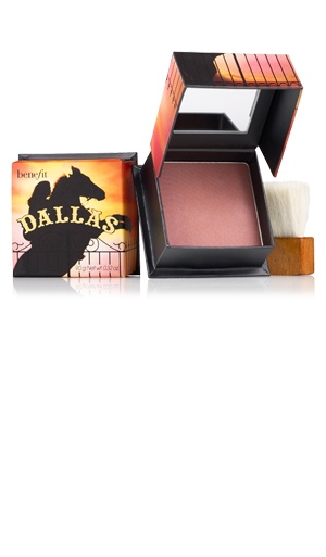 Dallas is my fav blush, goes great with Benefit's product Moon Beam!