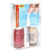Sally Hansen 5 Minute French Manicure Pen Kit, Sheer Natural 2311 by Sally Hansen. $5.95. Enough for up to 50 manicures!. Easy to use, salon French manicure in 5 minutes! Innovative white tip pen. Contains: 1 Maximum Growth Treatment 0.45 fl oz (13.3 ml); 1 Maximum Growth Color 0.45 fl oz (13.3 ml); French Manicure Pen 0.16 fl oz (4.7 ml); 1 Sheet of French Manicure Guides. Fabulous French Manicure in 5 minutes!  Great for pedicures! Enough for up to 50 manicure...