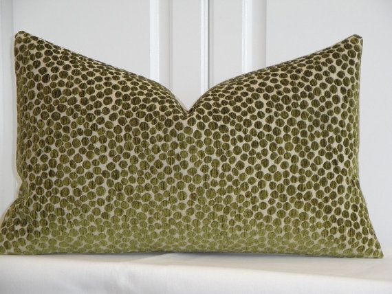 Decorative Pillow Cover  Chenille Accent  by TurquoiseTumbleweed, $34.00