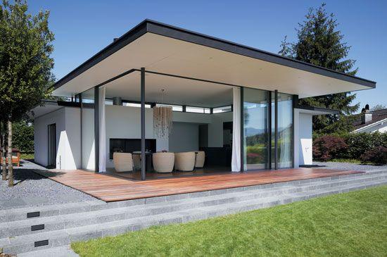 Sliding doors frameless meier architekten for Fenster 80 x 80