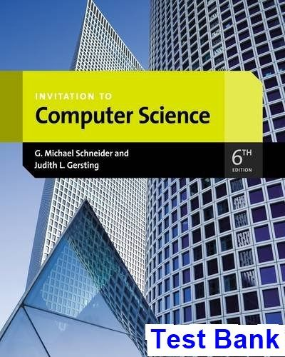 50 best test bank download images on pinterest invitation to computer science 6th edition schneider test bank test bank solutions manual fandeluxe Image collections