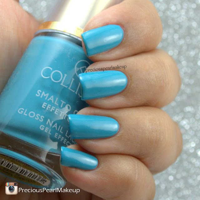 preciouspearlmakeup: Collistar Chameleon Purple and Serenity Blue Swatches and Review