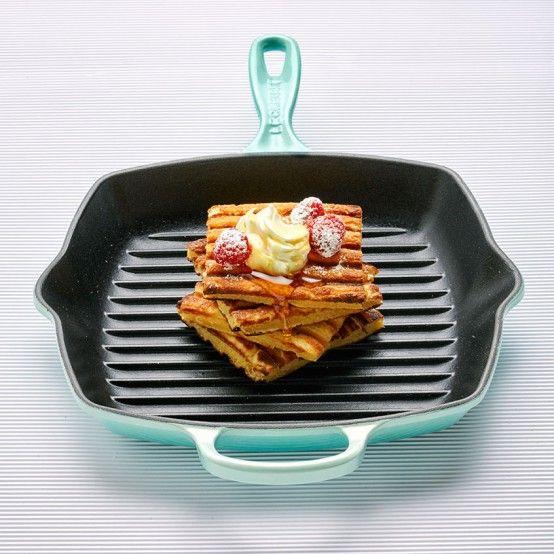 Grill-pan Waffles - Le Creuset Recipes