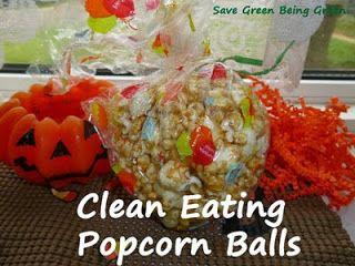 Clean Eating Popcorn Balls Recipe