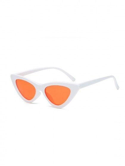 8a991e4715 Orange Cat Eyes Sunglasses in 2019