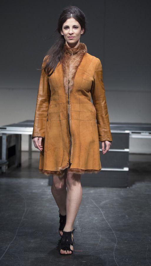 Recycled Fur Coat Designer: Dominique Ouzilleau  Model: Camille Dubois-Chalifoux