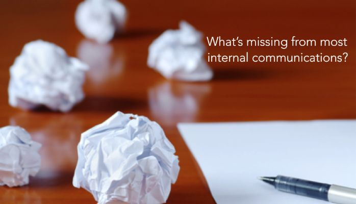 One thing missing from internal communications