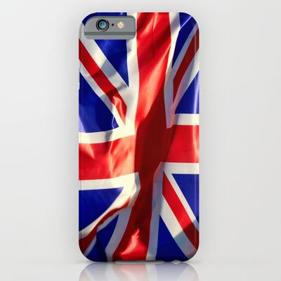 England Flag iPhone & iPod Case by Fine2art - $35.00