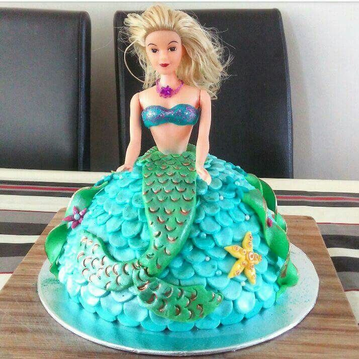 Mermaid Cake Pinterest