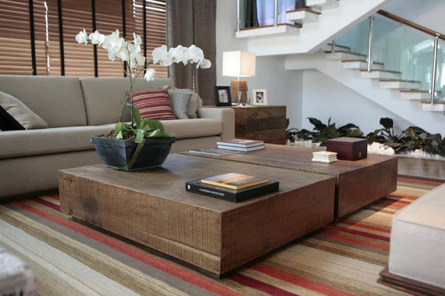 17 best images about ideias para a casa on pinterest - Mesas de sala modernas ...