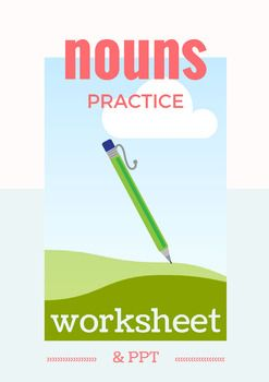 This resource includes a 35 item worksheet introducing/reviewing 8 basic types of nouns: singular, plural, irregular plural, possessive, proper, collective, abstract, and concrete. It also includes a Power Point that defines and gives examples of the 8 types of nouns.