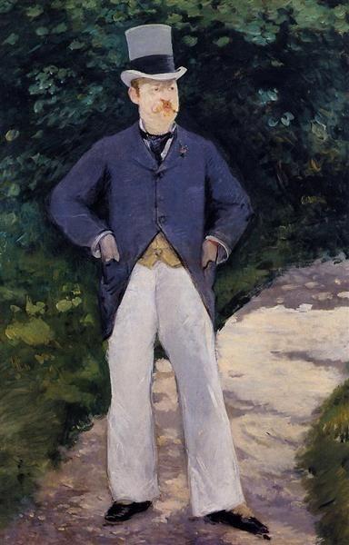 Retrato de Monsieur Brun, 1879 - Édouard Manet