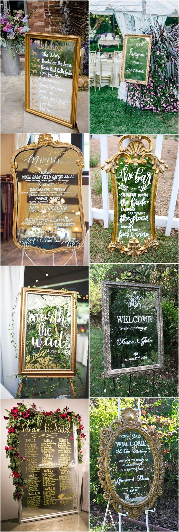 best 20+ wedding mirror ideas on pinterest | elegant wedding