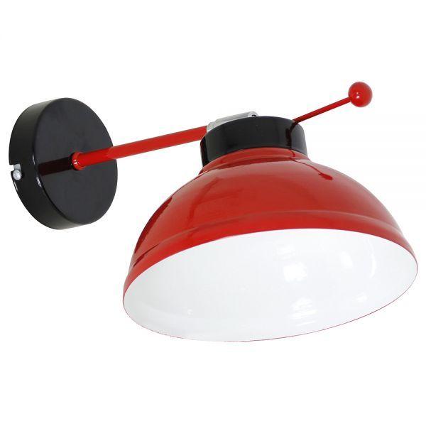 FACTOR red kinkiet 6146 Luminex - Sklep z oświetleniem