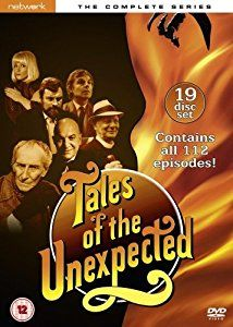 Tales of the Unexpected - The Complete Series DVD: Amazon.co.uk: Joan Collins, John Mills, Joss Ackland, Derek Jacobi, Pauline Collins, Cyril Cusack, Lally Bowers, John Gielgud: DVD & Blu-ray
