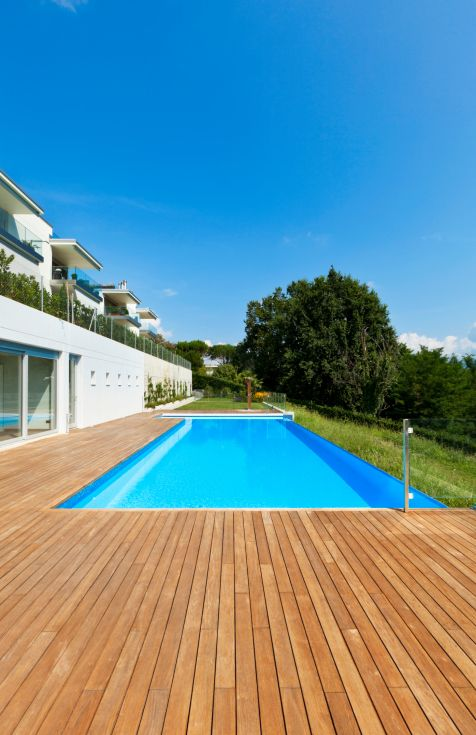 47 best images about decks designs on pinterest for Best timber to use for decking around a pool