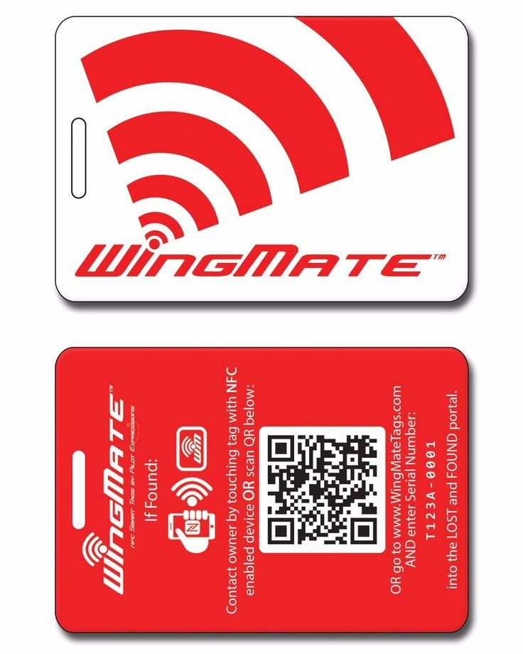 17 Best images about WingMate Smart NFC Luggage Tags on Pinterest ...