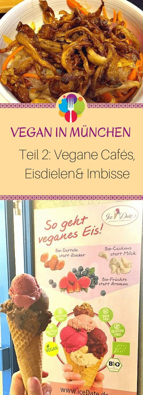 Vegan Essen in München - Teil 2 Cafés, Eisdielen und Imbisse - Vegalife Rocks: www.vegaliferocks.de✨ I Fleischlos glücklich, fit & Gesund✨ I Follow me for more vegan inspiration @vegaliferocks