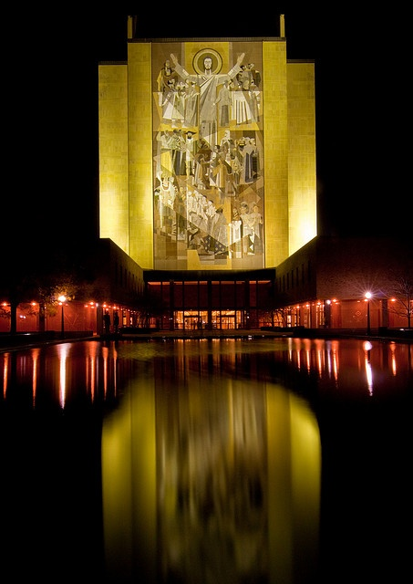 Touchdown Jesus Notre Dame University by Ron Strand64