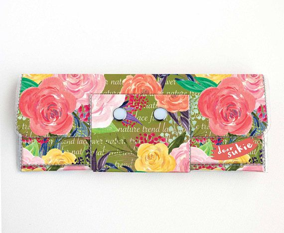 Check out this item in my Etsy shop https://www.etsy.com/ca/listing/512197944/vinyl-long-wallet-joyful-spring4-floral