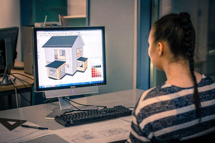 Talon piirustukset mallinnus