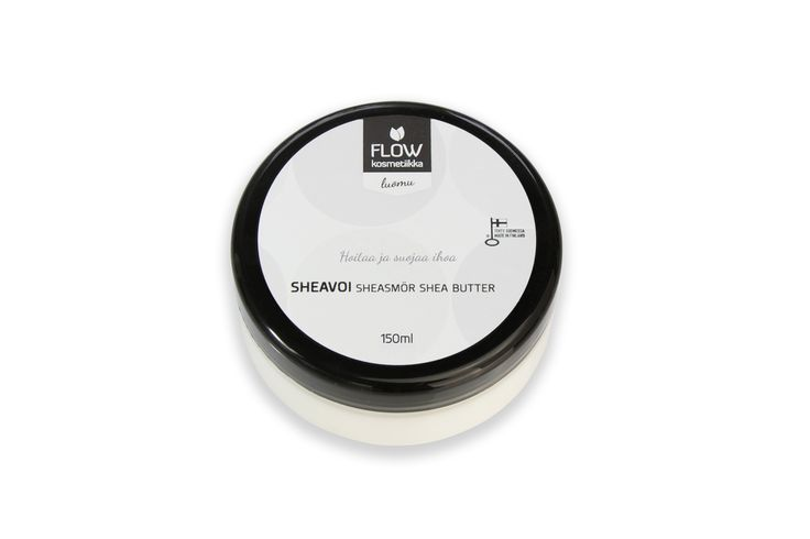 Flow Cosmetics - Shea butter. Nurturing cream for the entire body.