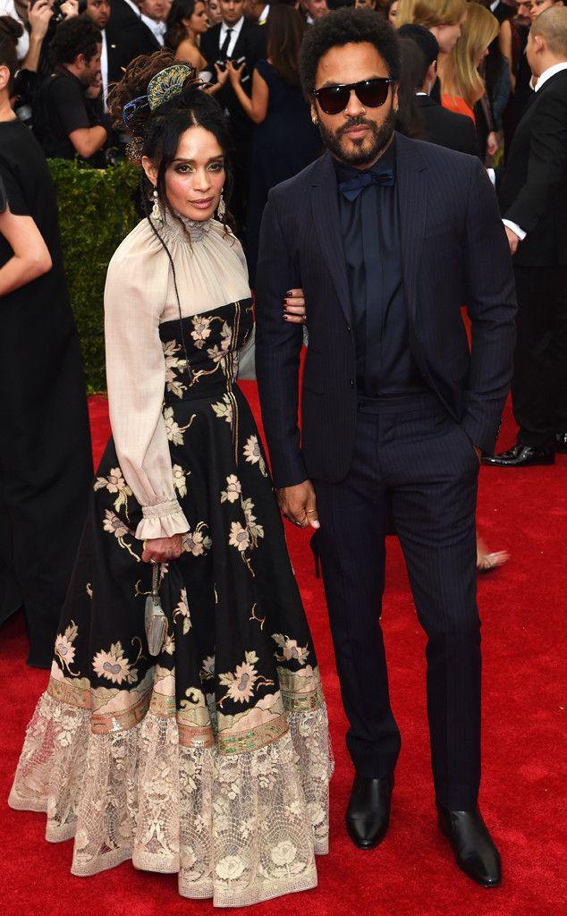 Lisa Bonet - looks like she is 70 years old. Lenny Kravitz - looks great