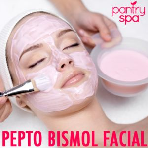 Dr Oz: Pepto Bismol Face Mask Remedy for Dull Skin - Pantry Spa