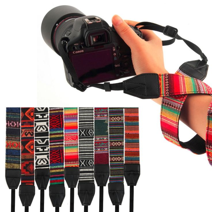 3 in 1 Camera Straps Vintage Hippie Style Canvas Shoulder Neck Durable Cotton for Nikon/Pentax/Sony/Canon DSLR Camera //Price: $9.95 & FREE Shipping //     #tech #electronic