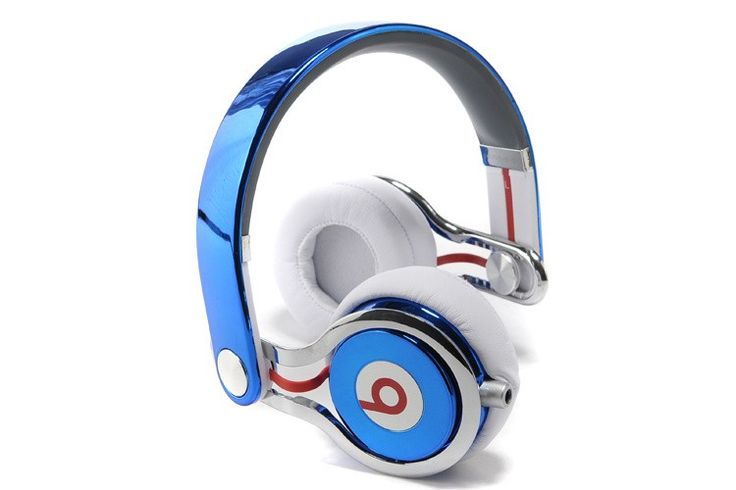 Blue Beats By Dre MIXR 24K Gold Limited Edition Headphones Sale