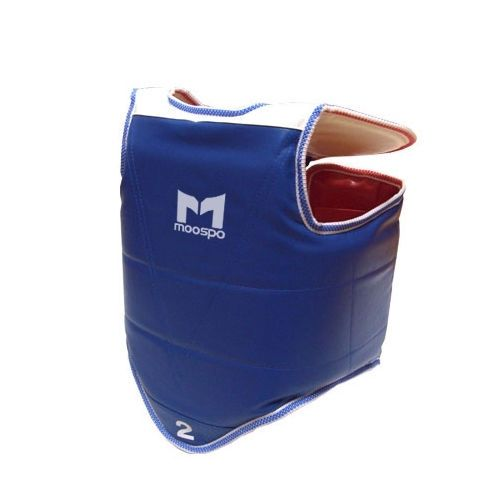 Korean TAEKWONDO TKD Moospo Chest Protector Reversible Red+Blue gear Guard 1EA #KZZANG
