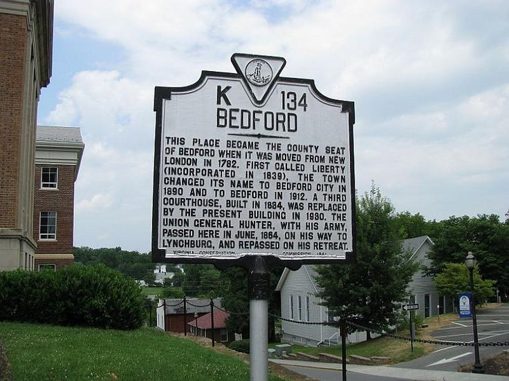 bedford virginia history | Bedford, Virginia Civil War sites