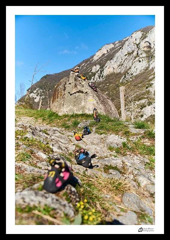 Nos chaussons d'escalade de grimpeurs-cueilleurs