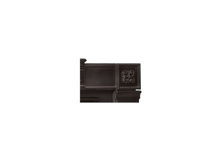 """Napoleon CFSK-A Cast Iron Fireplace Surround Kit for 44"""" Wide x 36"""" High Opening Painted Black Accessory Fireplace Surround"""