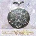 Back view of the Celestial Resonance Silver/Amethyst pendant - the most popular pendant in the CELESTIAL TEMPLE JEWELRY COLLECTION!  Powerful pendant that holds within it the technology of the Celestial Resonance Symbol and supports you to fully receive celestial frequencies, to move in celestial flow, with the divine timing of your life,  to support your spiritual growth and well being. Learn More & purchase: http://www.kyrona.com/?p=11126 #spiritualjewelry, #merkabah,#crystaljewelry
