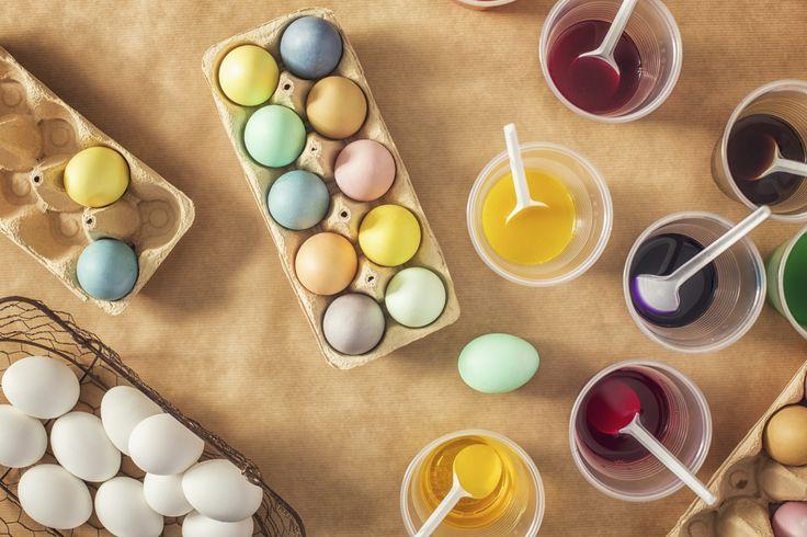 Come fare le uova colorate
