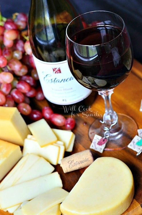 Pairing Wine and Cheese | from willcookforsmiles.com