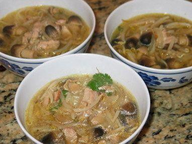 Asijská polévka.