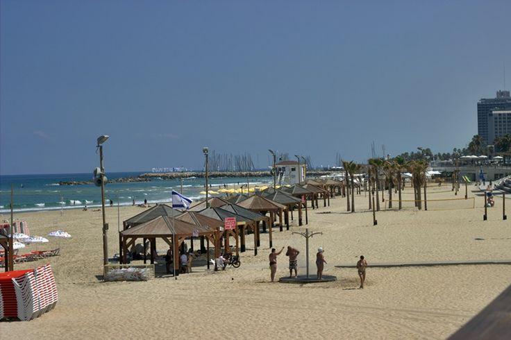 One of Tel Aviv's beaches ,June 17 #beach #telaviv