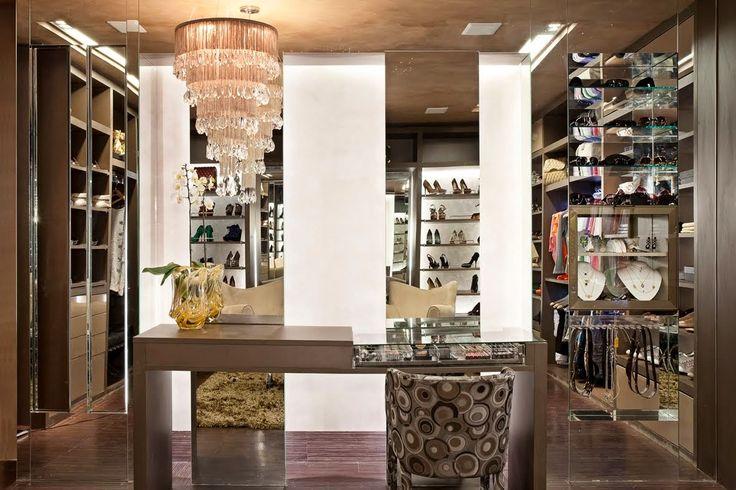 Decor Salteado - Blog de Decoração e Arquitetura : Closets - veja 15 quartos de vestir de diferentes estilos e lindos!