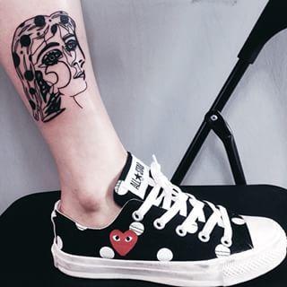 Esta interpretação do Retrato de Dora Maar: | 21 tatuagens de Picasso que vão fazer todo mundo se apaixonar