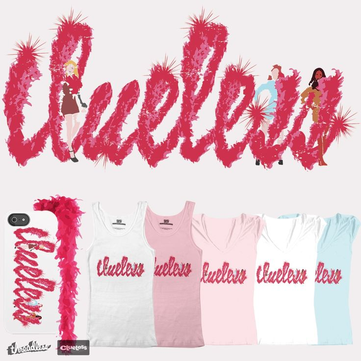 Clueless Feather Boa on Threadless