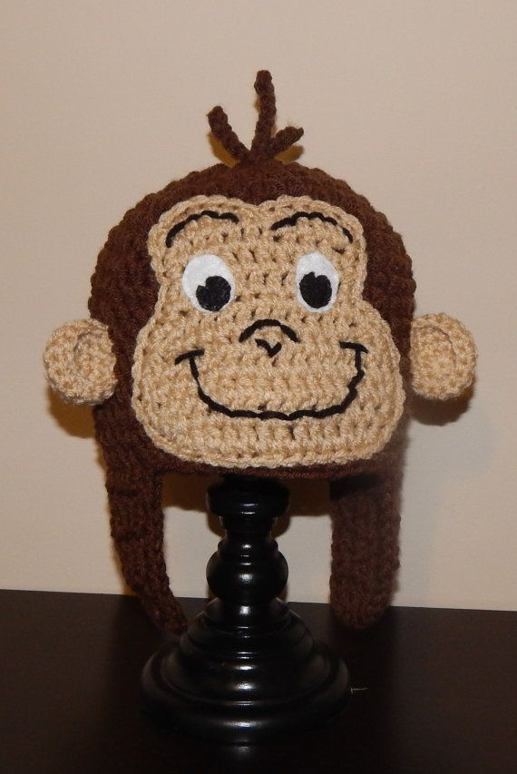 Curious George Crochet Hat