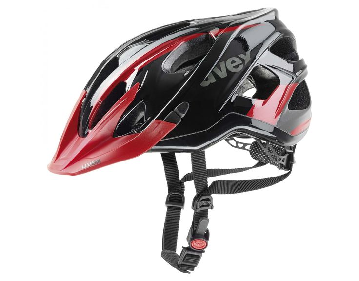 uvex STIVO C Helm black/red