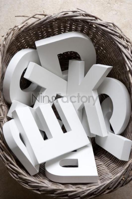 Comprar letras de madera decorativas grandes online letrak pinterest bebe - Letras de madera decorativas ...