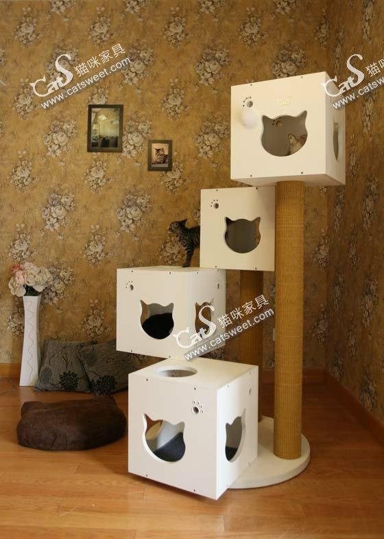 Circle Cat Tree
