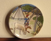 Saami plate by Arabia Finland, collector's item