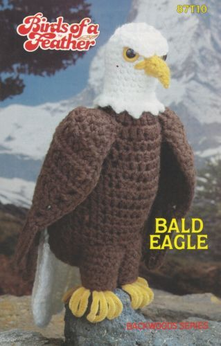Birds-of-a-Feather-Bald-Eagle-Annie-039-s-Attic-Crochet-Pattern-Leaflet-87T10