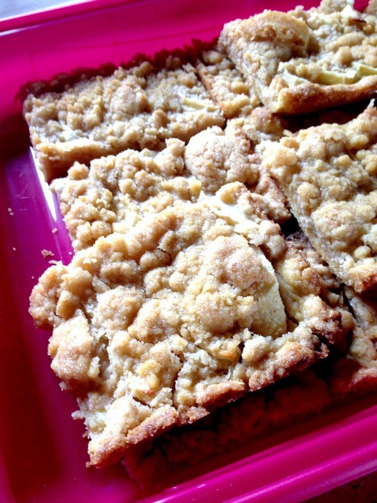 easy german apple streusel cake