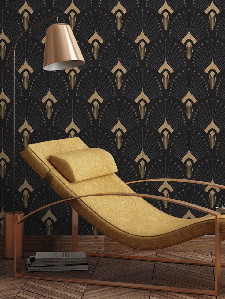 Papiers peints et décors muraux arty et graphique Papermint // Hëllø Blogzine blog deco